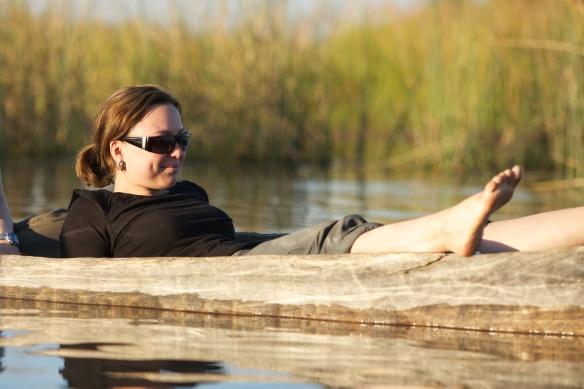 Wo Nilpferde und Krokos baden, da plansche auch ich.