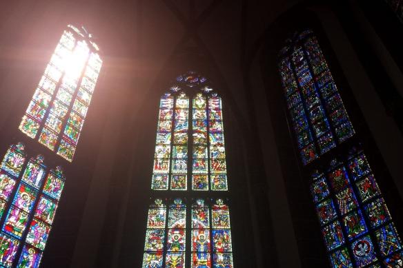 Im Inneren der Katharinenkirche in Oppenheim